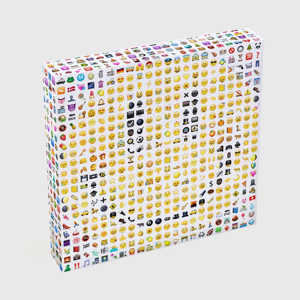 Quadro Quadrado - Emoticons