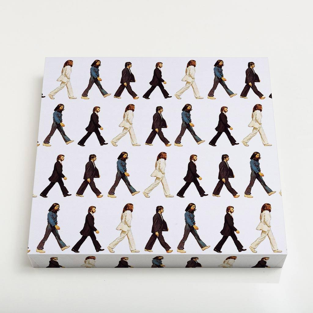 Quadro Quadrado - Pattern Beatles
