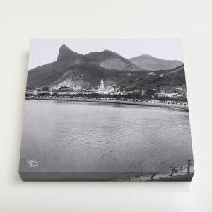 Quadro Quadrado – Enseada de Botafogo – Ano 1920 – 2