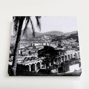 Quadro Quadrado – Arcos da Lapa – Ano 1912