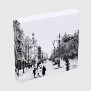 Quadro Quadrado – Avenida Central – Ano 1905