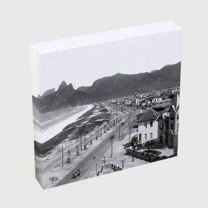 Quadro Quadrado – Praias de Ipanema e Leblon – Ano 1929