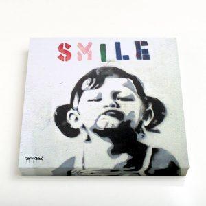 Quadro Quadrado – Smile Girl