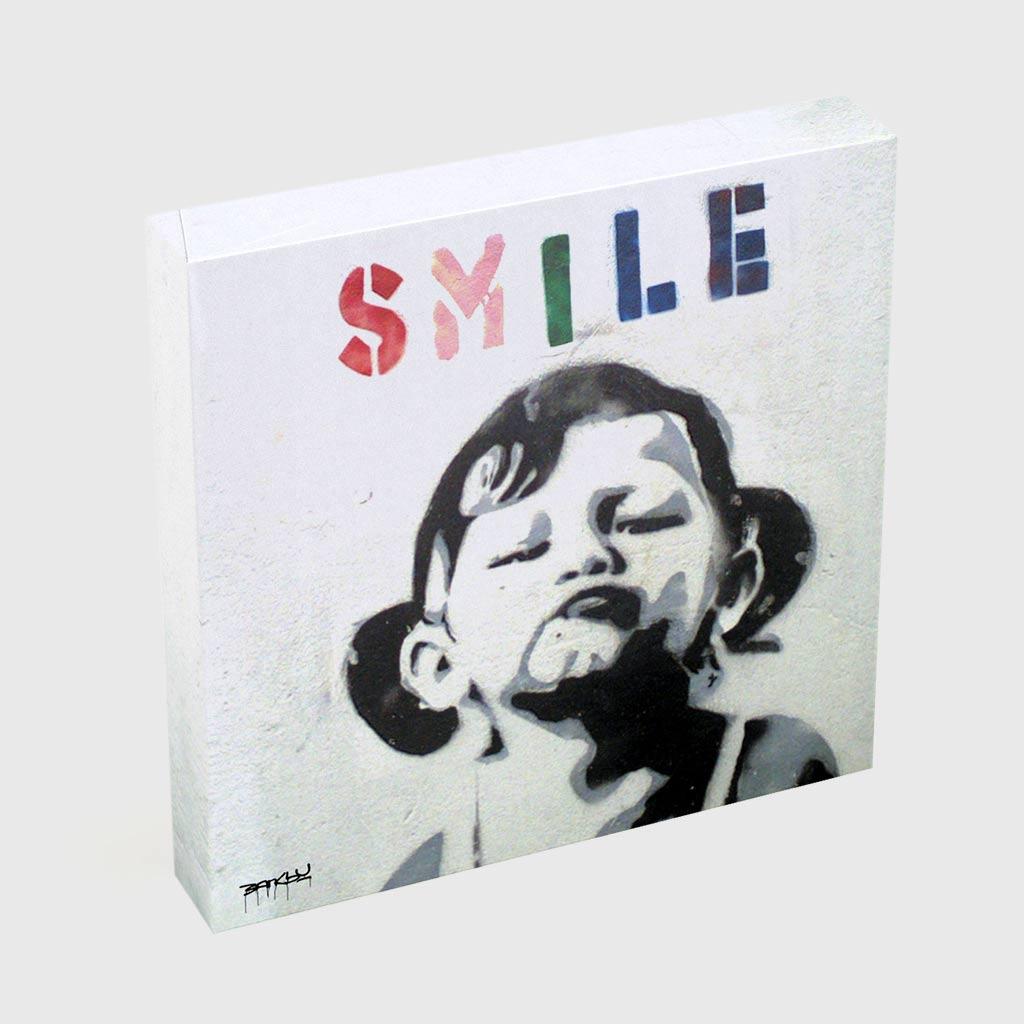 Quadro Quadrado - Smile Girl