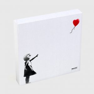 Quadro Quadrado – Balloon Girl