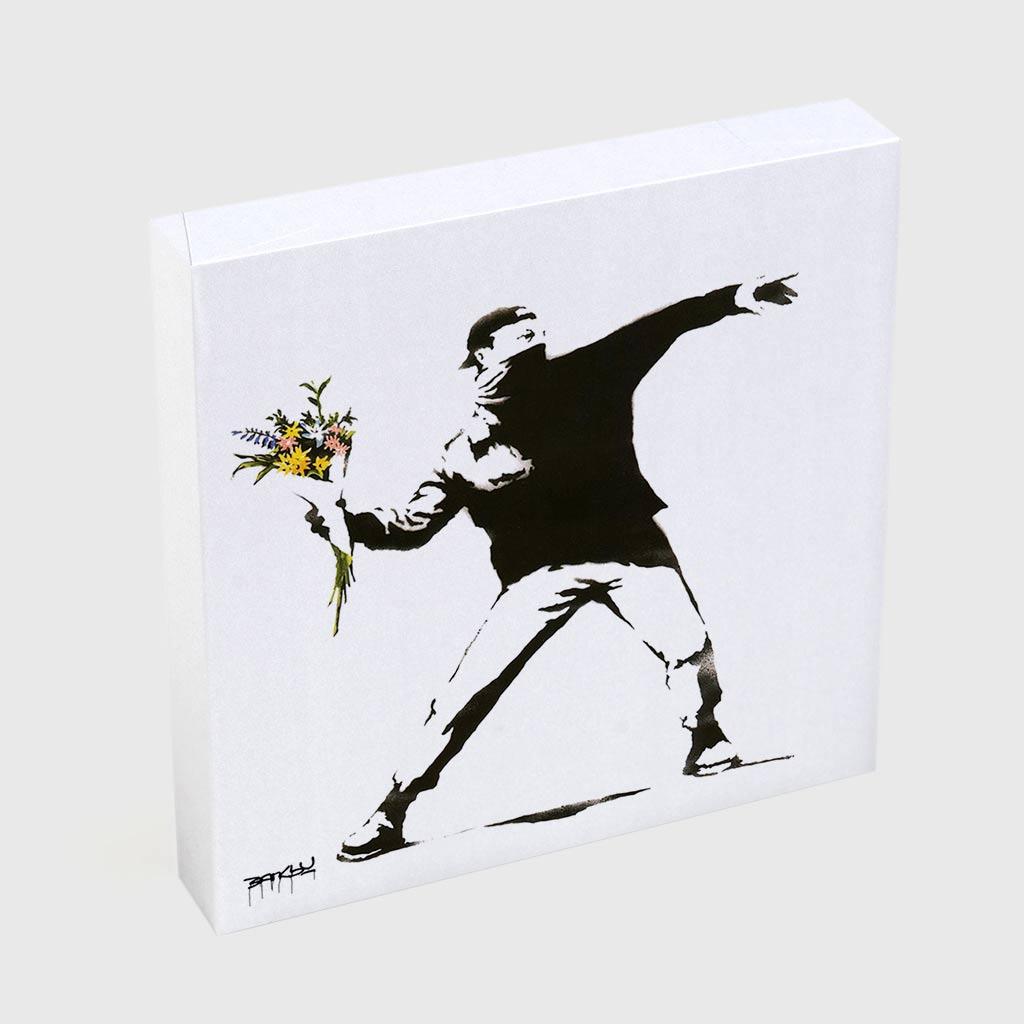 Quadro Quadrado - Flower Thrower