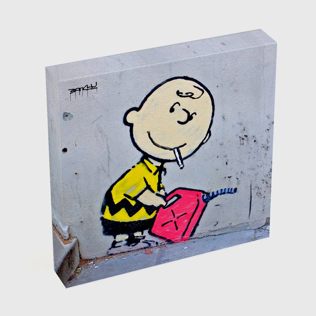 Quadro Quadrado - Charlie Brown Gasoline