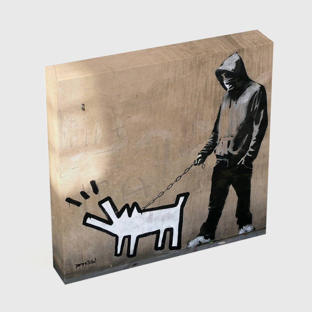 Quadro Quadrado - Keith Haring's Barking Dog