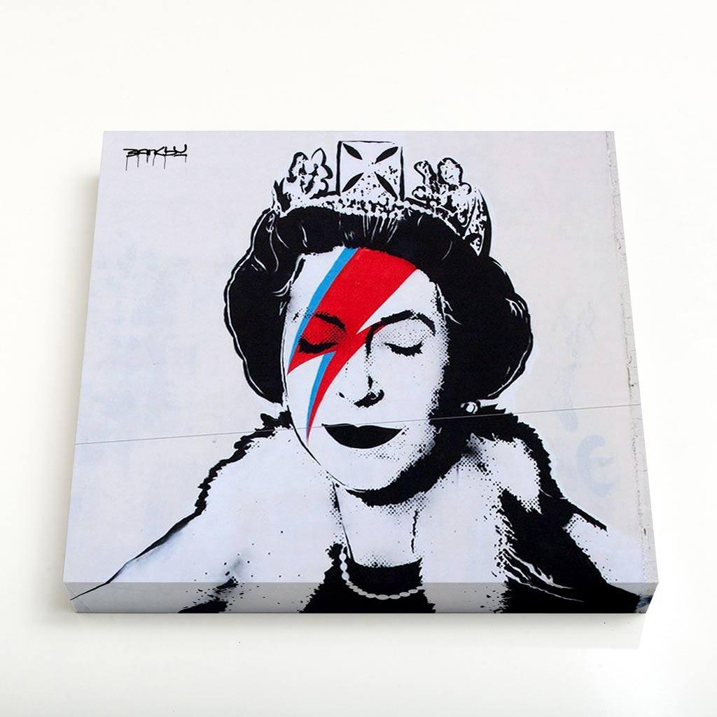 Quadro Quadrado - Queen Ziggy