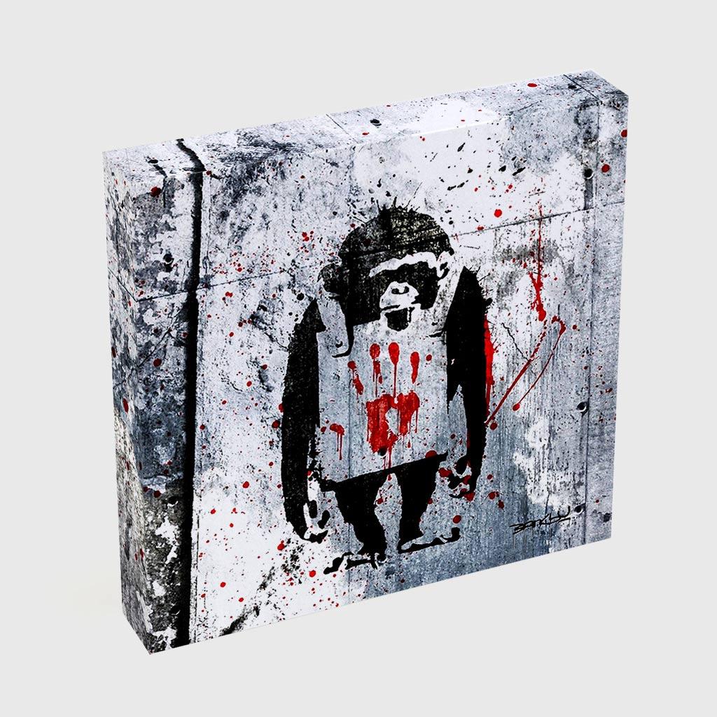 Quadro Quadrado - Monkey