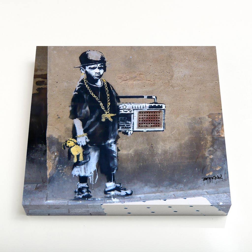 Quadro Quadrado - Hip Hop Boy