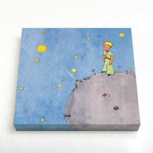Quadro Canvas – O Principezinho Sobre o Asteroide B612