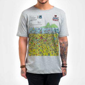 Camisa Masculina – Wally in Rio