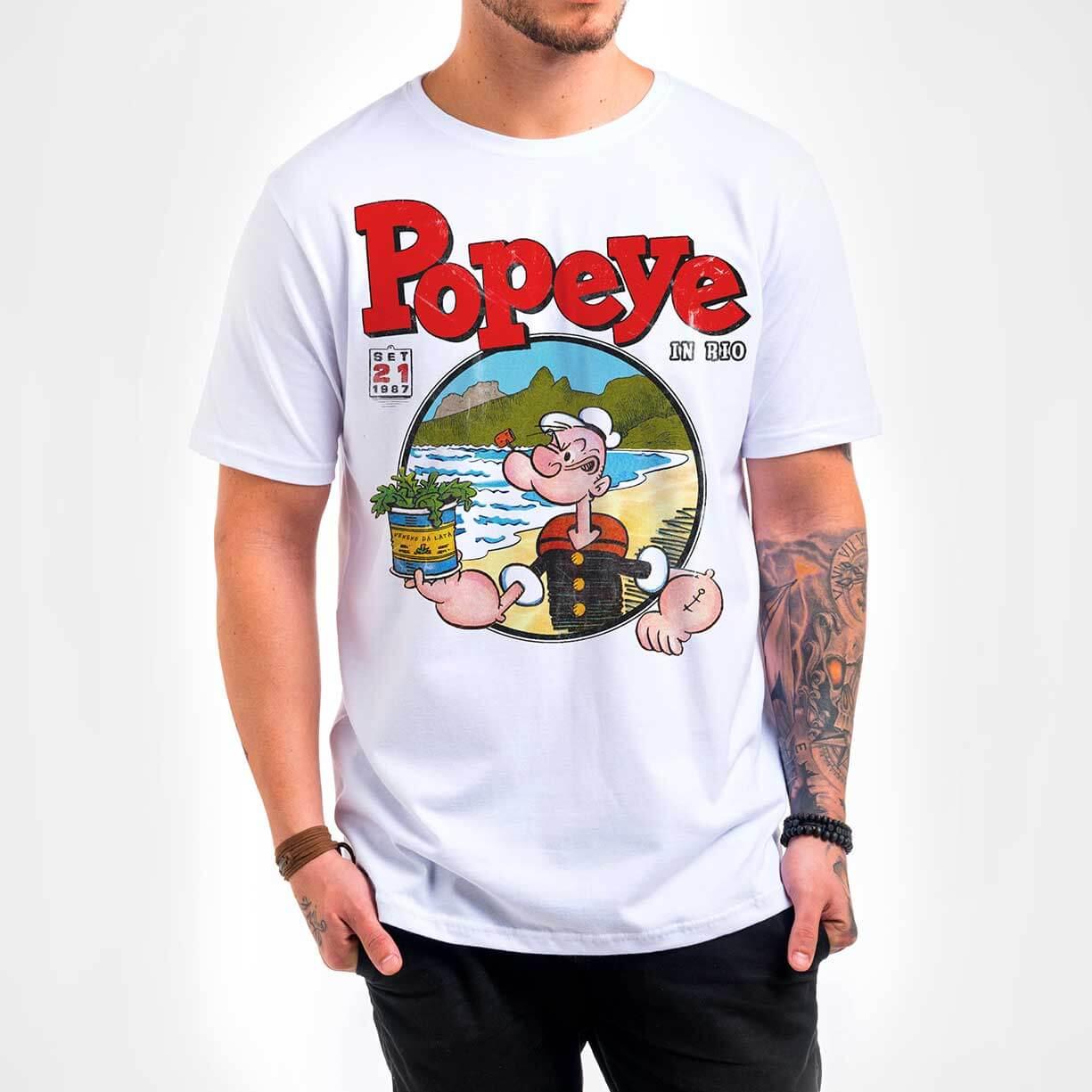 Camisa – Popeye in Rio