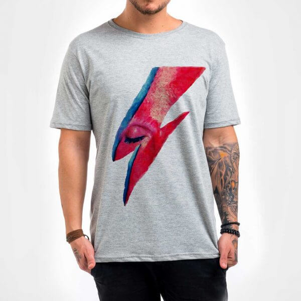 Camisa Masculina - Bowie 1