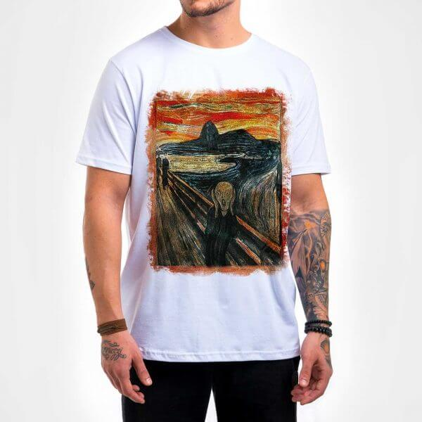 Camisa Masculina - O Grito in Rio 2