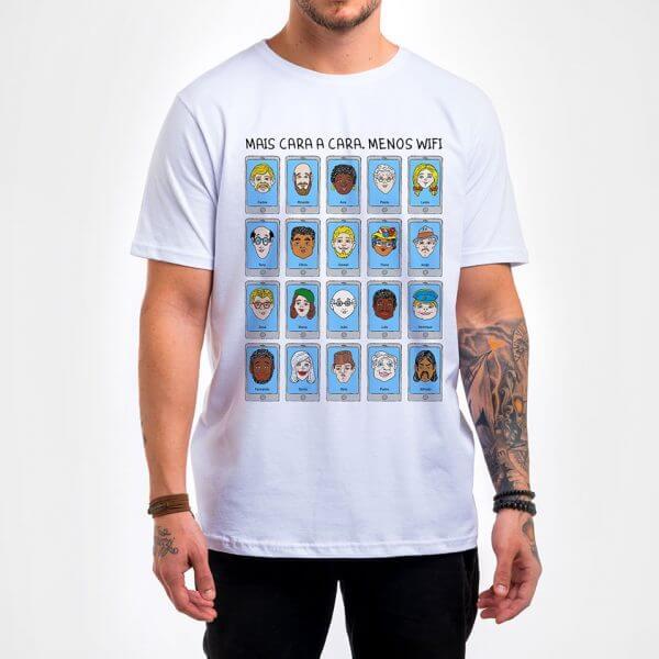 Camisa Masculina - Cara a Cara 3