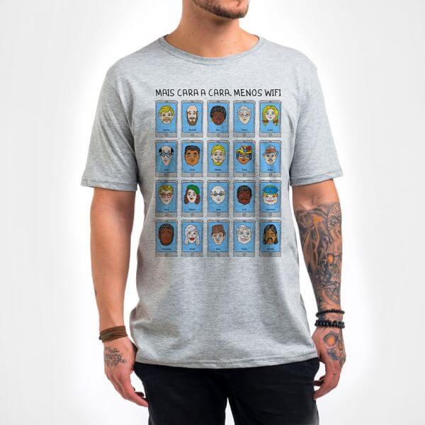 Camisa Masculina - Cara a Cara 4