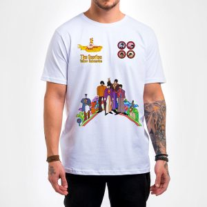 Camisa Masculina – Yellow Submarine
