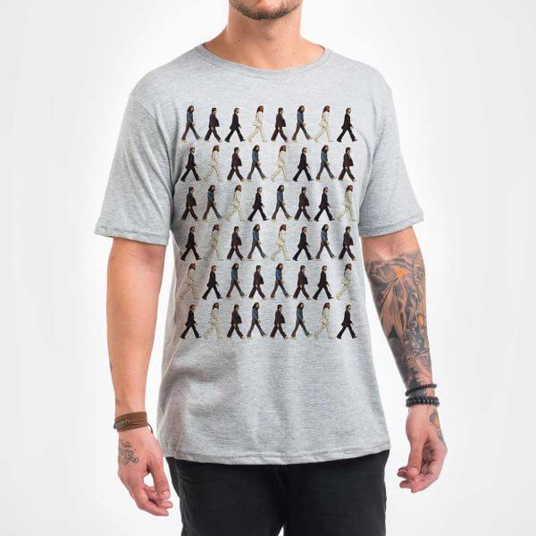 Camisa Masculina - Pattern Beatles 2