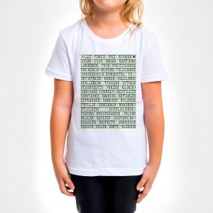 Camisa Infantil – Gentileza