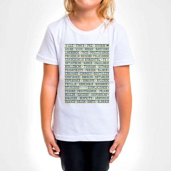 Camisa Infantil - Gentileza 4