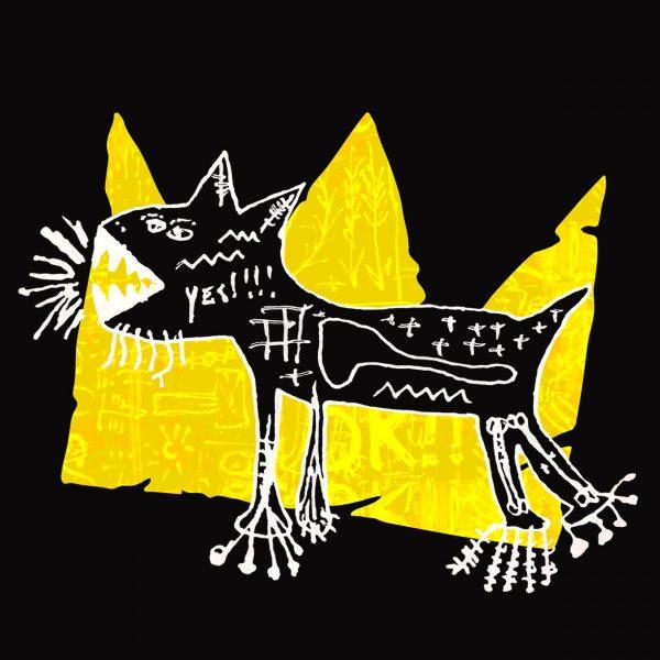 Camisa Masculina Preta - Basquiat 4