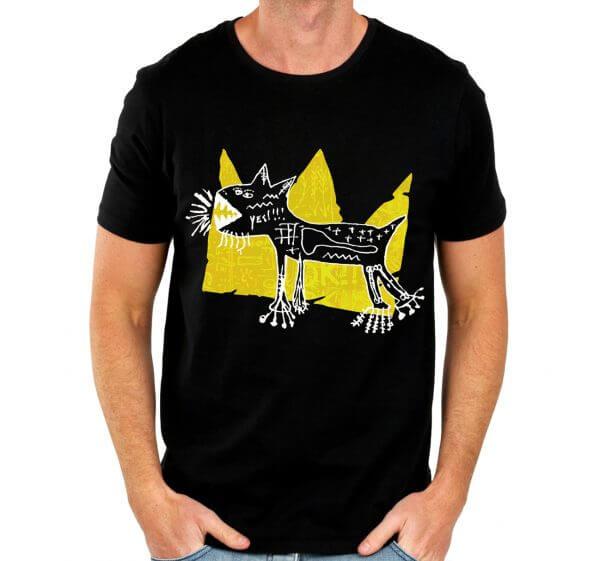 Camisa Masculina Preta - Basquiat 3