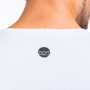 Camisa Masculina Branca – Snoopy