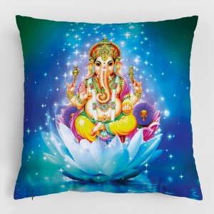 Almofada – Ganesha + Durga