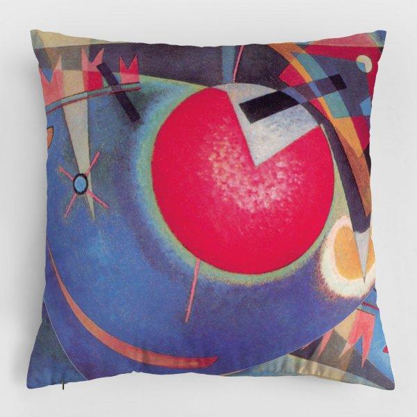 Almofada - In Blue + Amarelo-Vermelho-Azul 3