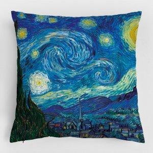 Almofada – A Noite Estrelada + Noite Estrelada Sobre o Ródano