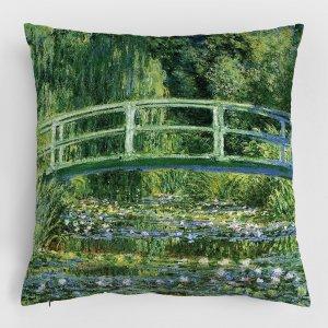 Almofada – Nenúfares e Ponte Japonesa