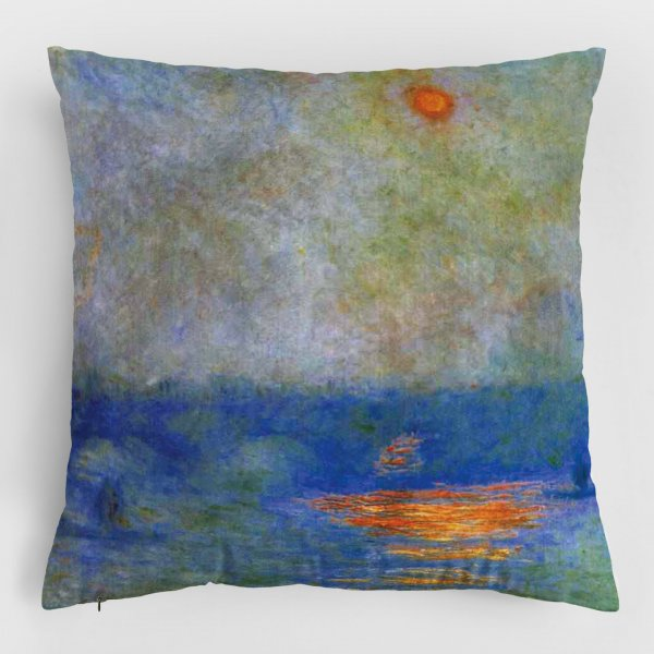 Almofada - Impressão, nascer do sol 3