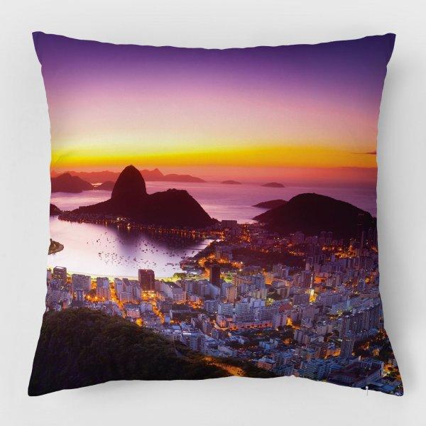 Almofada - Amanhecer no Rio de Janeiro com Pão de Açúcar II 3