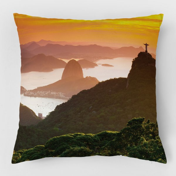 Almofada - Floresta da Tijuca, Cristo e Pão de Açúcar 3