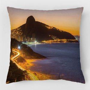 Almofada – Avenida Niemeyer e Morro Dois Irmãos