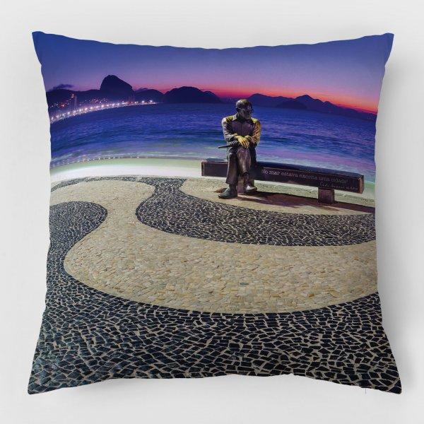 Almofada - Amanhecer em Copacabana com Drummond III 3