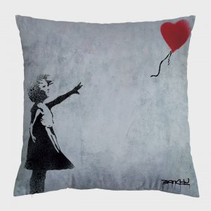 Almofada – Broken Heart Balloon + Balloon Girl