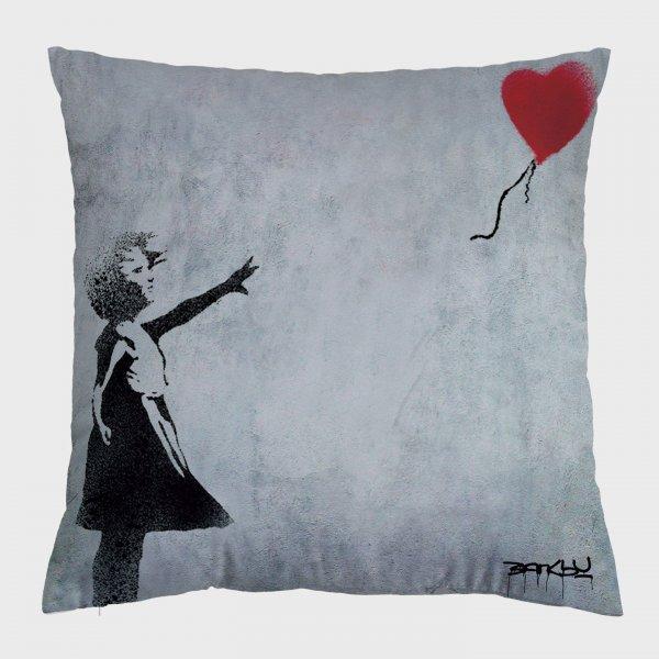 Almofada - Broken Heart Balloon + Balloon Girl 4