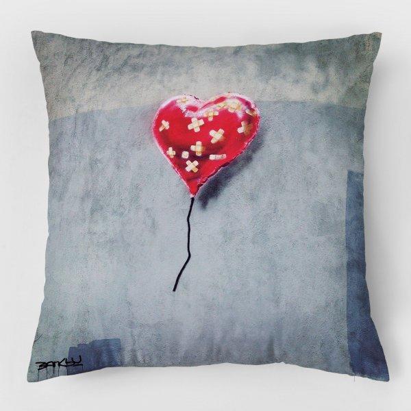 Almofada - Broken Heart Balloon + Balloon Girl 3