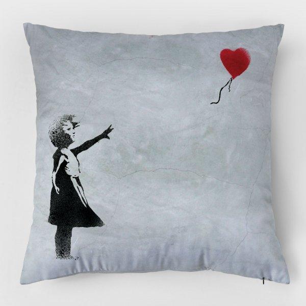 Almofada - Balloon Girl + Flower Thrower 3