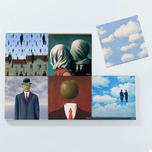 Porta Copos Magnéticos – René Magritte