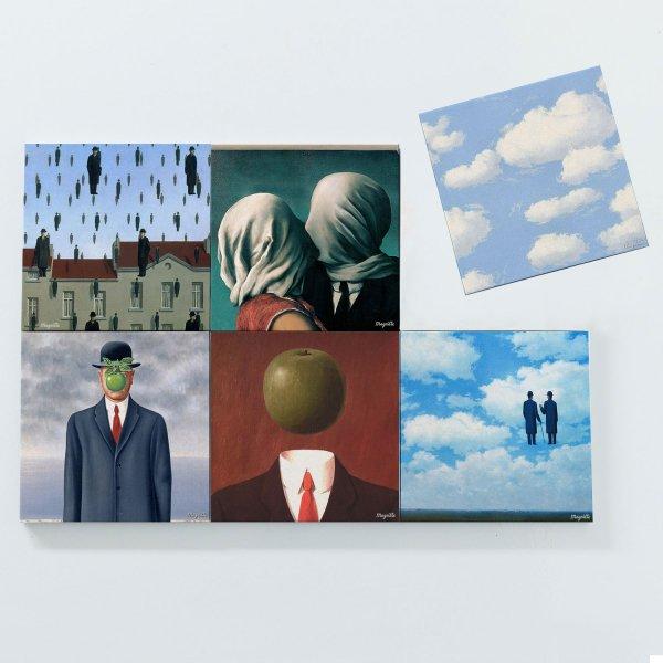 Porta Copos Magnéticos - René Magritte 3