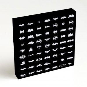 Quadro Quadrado – Pattern Batman