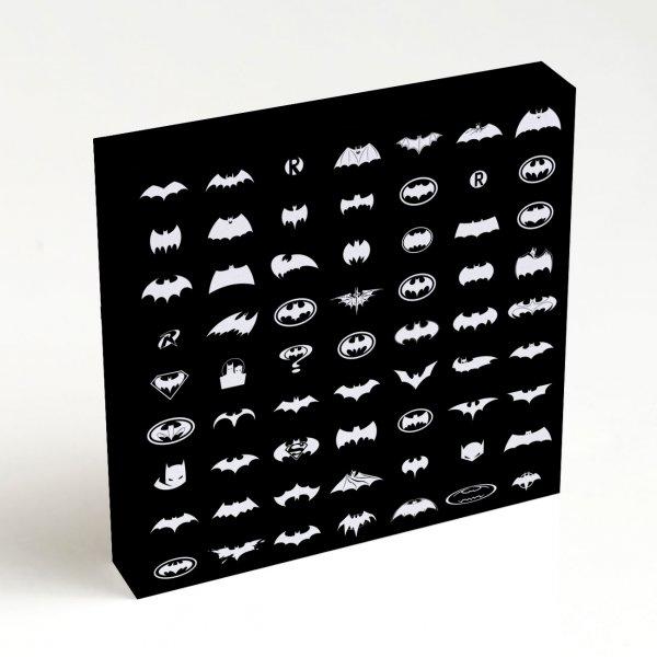 Quadro Quadrado - Pattern Batman 4