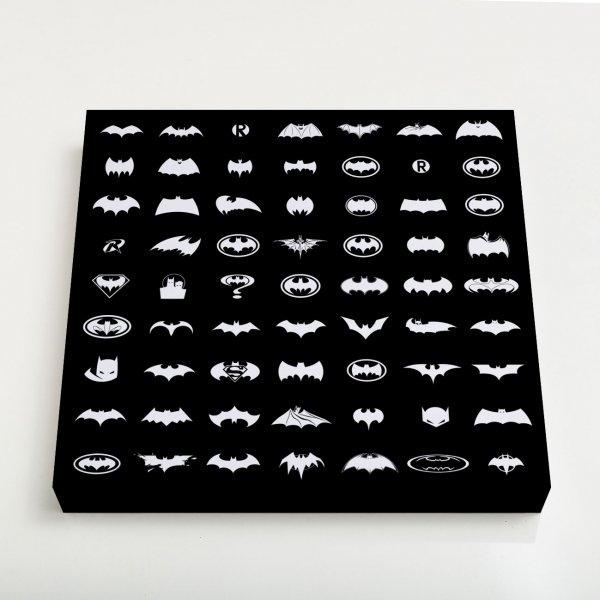 Quadro Quadrado - Pattern Batman 3