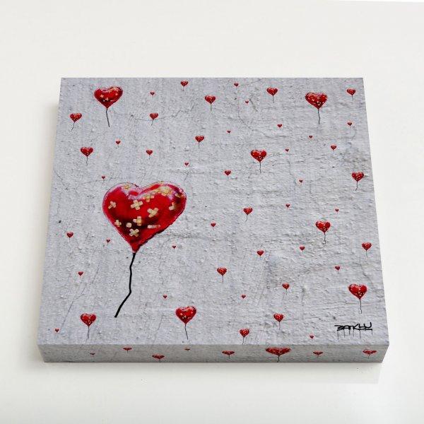 Quadro Canvas - Broken Heart Balloon Pattern 3