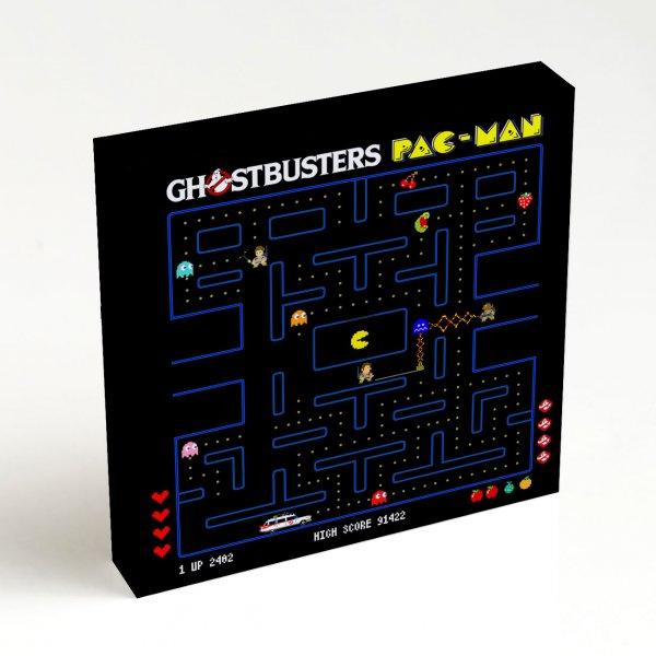 Quadro Quadrado - Ghostbuster Pac-Man 4