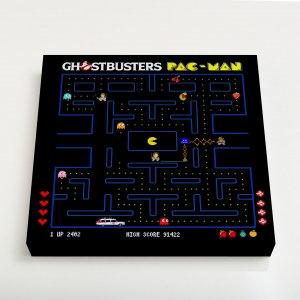 Quadro Quadrado – Ghostbuster Pac-Man